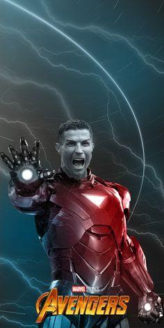 Firmino, Cristiano Ronaldo and others. Cristiano Ronaldo Juventus, Marvel 3, Messi, Captain America, Iron Man, Avengers, Football, Illustration, Sports