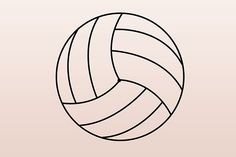 How to Draw a Volleyball. Volleyballs may look very simple and easy to draw at first, but when you actually grab a pencil and begin drawing, you realize they are a bit difficult to capture on paper. Volleyball Cupcakes, Volleyball Party, Coaching Volleyball, Volleyball Birthday Cakes, Volleyball Crafts, Softball, Volleyball Locker Signs, Volleyball Locker Decorations, Volleyball Memes