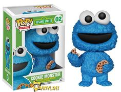 Sesame Street Funko POPs Cookie Monster. Got him for a friend; if she insists on paying me back (as she sometimes does), will get another for my son.