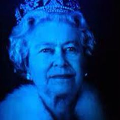 Queen Elizabeth large format Hologram