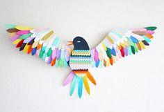 kleurenvogel, evt te gebruiken bij verwerking van Ssst we hebben een plan.