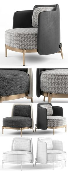 "Minotti - ""Tape"" armchair #livingroomfurnituresofachairs"