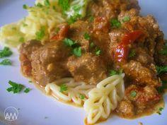 V kuchyni vždy otevřeno ...: Kuřecí játra s nivou a sušenými rajčaty Spaghetti, Ethnic Recipes, Cooking, Noodle