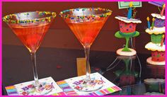 Cocktail Ideas For A Birthday-Theme Party | Drink Recipes