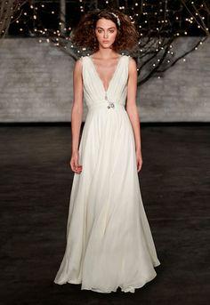 #vestido de novia estilo #griego, colección #jennypackham 2014 - Café Novias: Un café de inspiración para #bodas