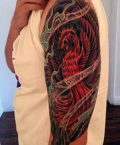 60 Phoenix Tattoo Designs For Men - A 1,400 Year Old Bird Phoenix Tattoo Men, Rising Phoenix Tattoo, Phoenix Tattoo Design, Tattoos For Women Small, Tattoos For Guys, Flame Tattoos, Thing 1, Tattoo Designs Men, Unique Tattoos