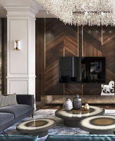 "Home Interior Simple : "" "" Interior Simple : "" "" House Paint Interior, Living Room Interior, Home Living Room, Luxury Living Rooms, Luxury Home Decor, Luxury Interior, Luxury Homes, Interior Simple, Contemporary Interior Design"
