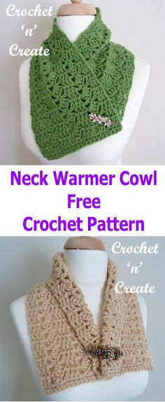Add style to any outfit with this FREE crochet neck warmer cowl pattern, make this Winter accessory with just one ball of yarn..