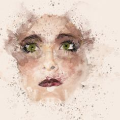 Painting Beauty Mask by Alessio Grassi, via Behance