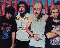 Daron Malakian, Serj Tankian, Shavo Odadjian y John Dolmayan!!!!