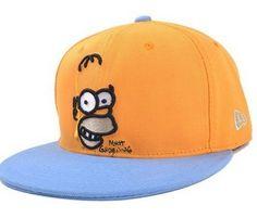 Boné Cartoon Simpsons New Era - Frete Grátis Compre Aqui>>> www.dubarato.com.br