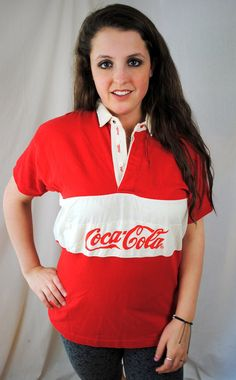 Vintage 80s Classic Coca Cola Coke Tee Shirt by RogueRetro on Etsy, $24.00