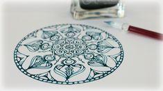 Zentangle Inspired Art #33 - YouTube