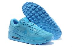 698f5770e Air Max 90 Premium EM Mens Shoes 2014 Release All Blue Nike Air Max 87