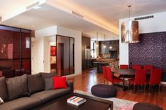 VP Interiors 2010 - contemporary - dining room - new york - by valerie pasquiou interiors + design, inc