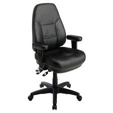 Dual Function Sculptured Task Chair with Adjustable Soft Padded Arms only on Furniture World Store.