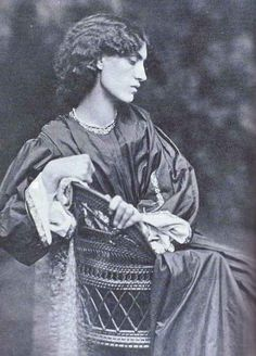 jane morris. Muse to her husband William Morris and her lover Dante Gabriel Rosetti