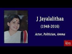 Tamilnadu Chief Minister AMMA Jayalalithaa's politica fulll history 1948...
