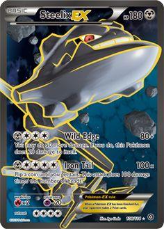 XY - Steam Siege Steelix EX Full Art 108/114 (Rare Ultra)