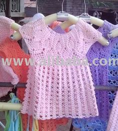 Easy Crochet Baby Dress | CROCHET KIDS CLOTHES | Crochet For Beginners