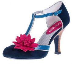 903cf56f3 New Ladies Rockabilly High Heel Shoes - Ruby Shoo