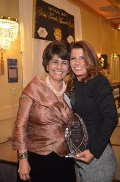 Fatma Yuceler, Turkish Airlines General Manager, Western Region USA, Honored as International Trade Catalyst of the Year at Women in International Trade's 2nd Annual Global Trade Awards Gala 2014.