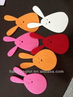 FELT EASTER BUNNY - Laser Cut- Perfect Gift Set