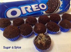 Oreo Gourmet Brigadeiro Rezept Ana Maria Brogui Ideas (i will organize this once school is over) Just Desserts, Delicious Desserts, Yummy Food, Sweet Recipes, Cake Recipes, Dessert Recipes, Oreos, Sugar And Spice, I Love Food