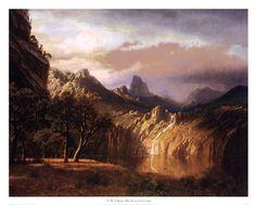 Bierstadt Albert Wharf Scene A4 Print Art Prints
