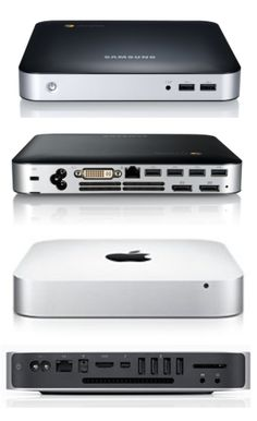 Samsung's Chromebox: A dead ringer for Apple's Mac Mini. Is there anything Apple makes that Samsung won't copy?