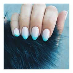 Obsessed with these ombre nails  #nailart #ombrenails #healthynails #lemanoir #manicure