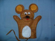 Blog da Tia Zan: Fantoche de ratinho