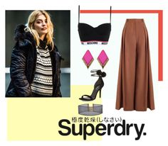 """""""Superdry."""" by irinabadenwurtte ❤ liked on Polyvore featuring Zimmermann, Chicnova Fashion, Superdry, Armitage Avenue, Moschino and Michael Kors"""