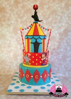 Big Top Circus Cake - Cake by Cakes ROCK!!!