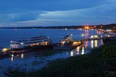 Port of Tabatinga. Amazonia. Brasil - by ebmfoto.com