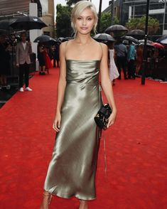 Sara Ellen wears the Bec & Bridge Amazonite Dress