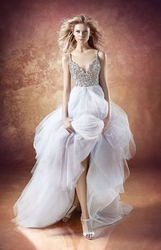 Hayley Paige- Style 6656 Arlo- Find gown @ De Ma Fille Bridal in Ft. Worth, TX. 817.921.2964, www.demafille.com