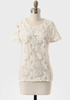 Savile Row Embellished Lace Blouse at #Ruche @Ruche