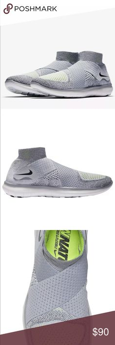 25bd39d156214 Shop Men s Nike Gray size 11 Athletic Shoes at a discounted price at  Poshmark. Description  Nike Free RN Motion Flyknit 2017 Grey Volt SZ 11  Authentic New ...