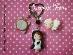 Deemak Twins: Porta-chaves personalizado