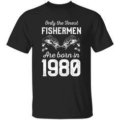 Funny Fishing Shirts, Fishing Humor, Funny Happy Birthday Images, 25 Year Anniversary Gift, Fisherman Gifts, Image Gifts, Fathers Day Presents, Aged To Perfection, Vintage Birthday