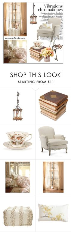"""Romantic Homes"" by mk-style ❤ liked on Polyvore featuring interior, interiors, interior design, home, home decor, interior decorating, House & Home, Ceramiche Pugi, Zara and Williams-Sonoma"