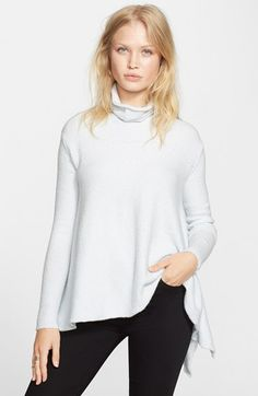 Free People Handkerchief Hem Sweater