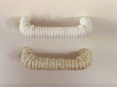 Nautical Rope Drawer Handle or pull - kitchens or dressers, etc. on Etsy, $9.25