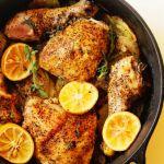 Lemon Roasted Chicken | Grandbaby Cakes