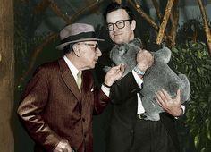 Igor Stravinsky and Robert Craft in Australia in 1961. Photo: ABC Archives.