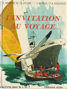 Manuels anciens: Mareuil, Goupil, L'Invitation au voyage... (lectures pour le CM1)