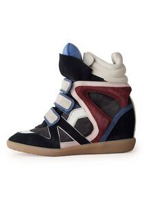 Isabel Marant Willow high-top sneakers.  in love with these kicks!! I just can't justify $760!