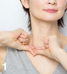 顔たるみ 鎖骨筋膜1