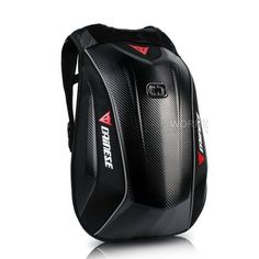 DAINESE D-Mach 3 Carbon Weave 22L Hard Shell Case Motorcycle Bike Backpack Bag #Dainese #Backpack